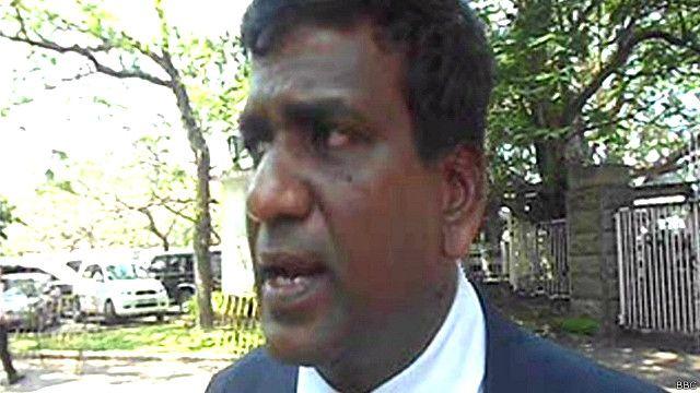 Lawyer Namal Rajapaksa