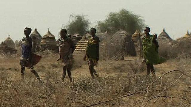 Беременные женщины на юге Судана