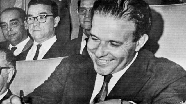 João Goulart toma posse em 1961
