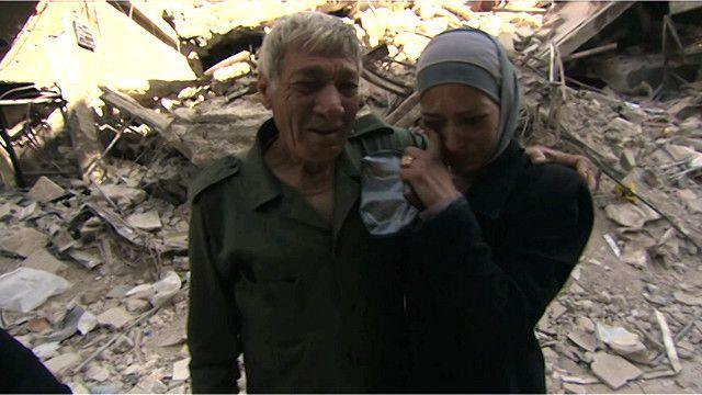 لاجئون سوريون