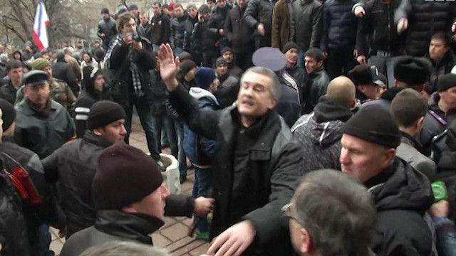 متظاهرون في أوكرانيا