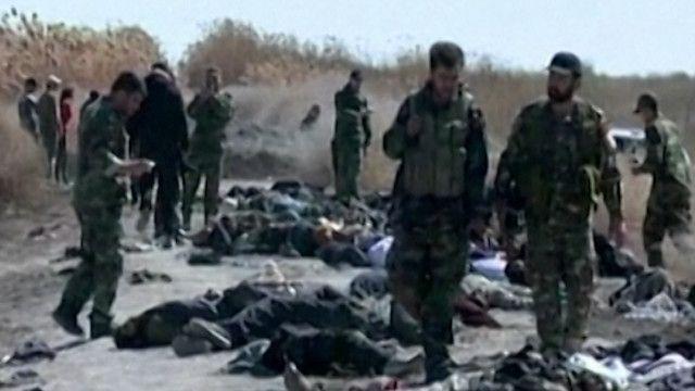 جثث لمسلحين في سوريا