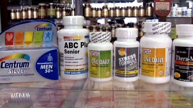 قوطی قرص های ویتامین