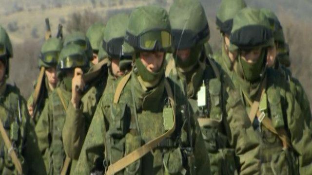 قوات تتمركز في شبه جزيرة القرم