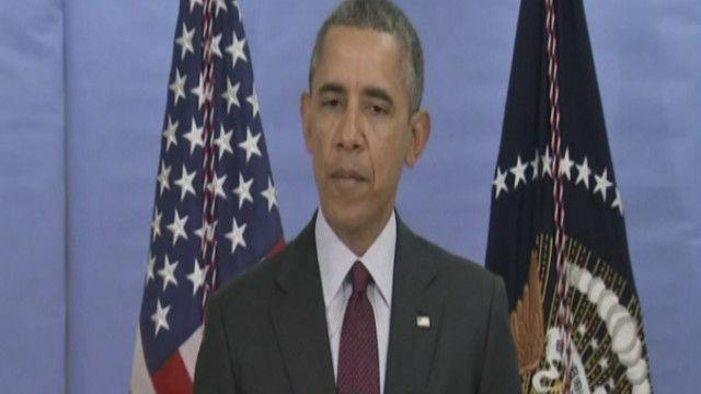 باراك اوباما الرئيس الأمريكي