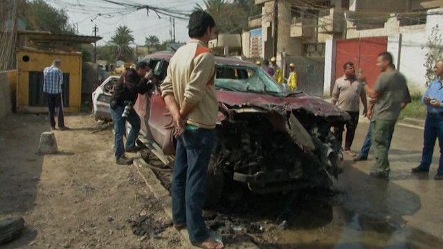 سلسلة تفجيرات بسيارات مفخخة تجتاح بغداد