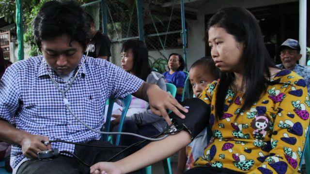 indonesia rubbish clinic