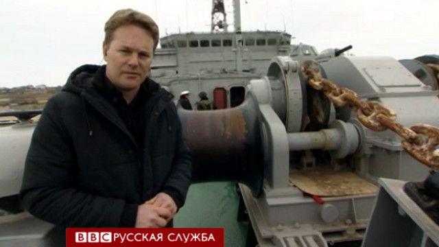 "На борту корабля ""Славутич"""