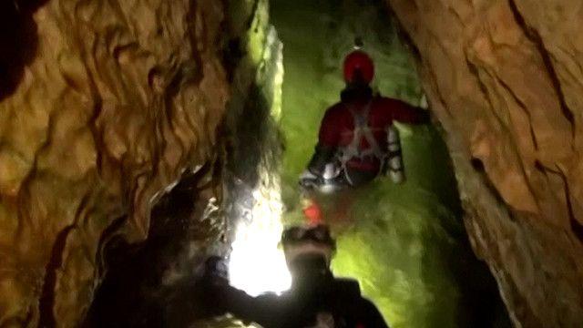 اكتشاف كهوف في تشيلي