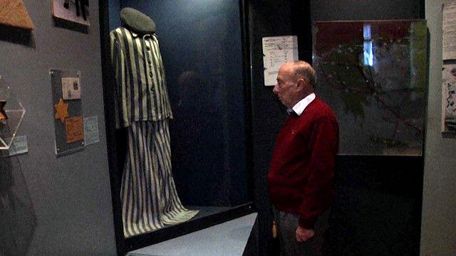 حاييم آلفو يهودي يوناني ناج من معسكرات النازية