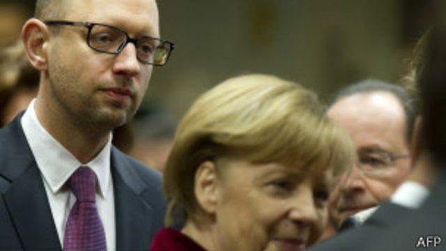 La crisis de Ucrania revivió fantasmas oscuros de Europa