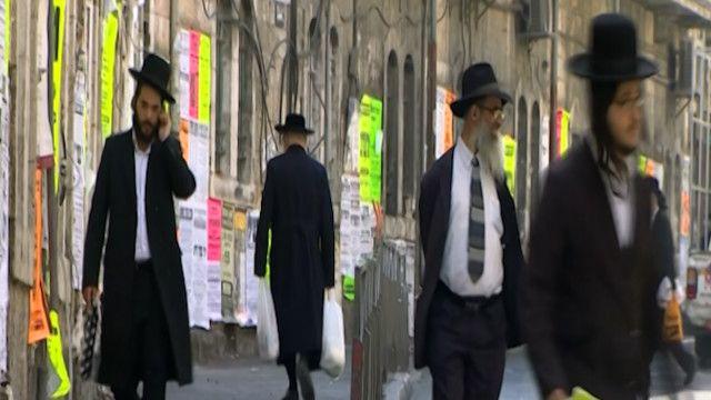 رجال من اليهود أرثودوكس