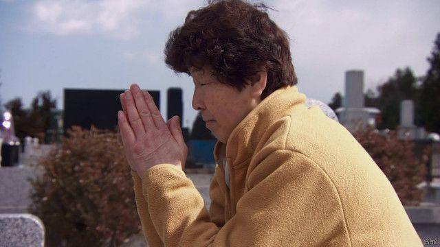 فوکوشیما سانحہ کے بعد اپنا گھر چھوڑنے پر مجبور ہونے والی ایک خاتون