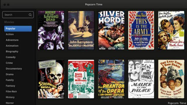 Popcorn Time: la pesadilla de Hollywood está hecha por argentinos