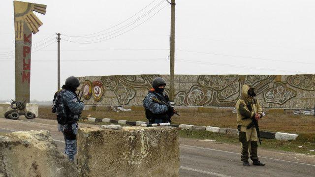 Крым, блокпост
