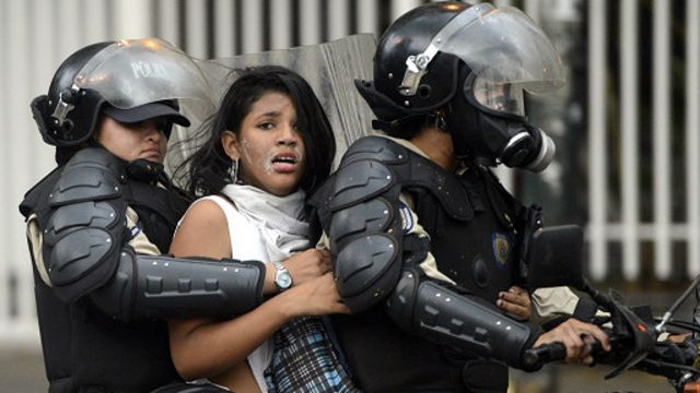 Militares admiten excesos durante las protestas en Venezuela
