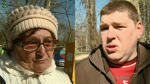 Жители Симферополя