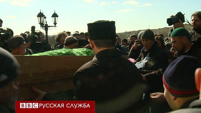 Похороны Ришата Аметова