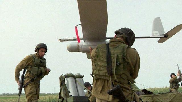 """طائرات """"سكاي لارك"""" دون طيار الإسرائيلية"""