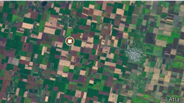 Crean un mapa mundial de conflictos ecológicos