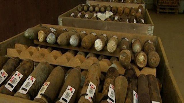 قنابل منذ الحرب العاليمة الاولى