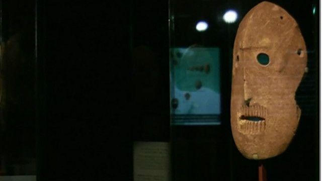 Máscaras de 9 mil anos (BBC)