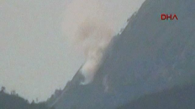 موقع سقوط الطائرة السورية الحربية