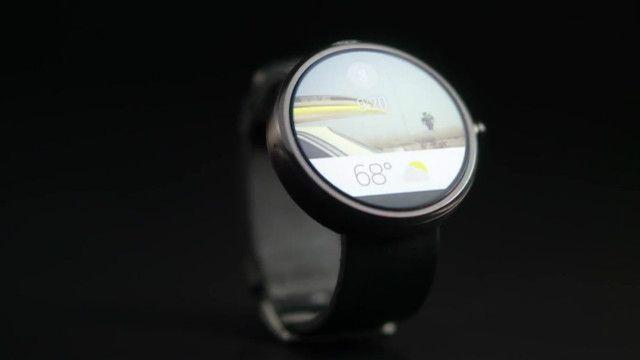 Relógio inteligente do Google (BBC)