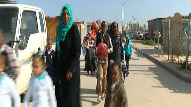 لاجئين  من تاورغاء