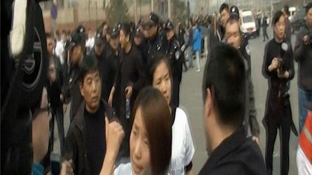 مواجهات بين الشرطة الصينية ومتظاهرين