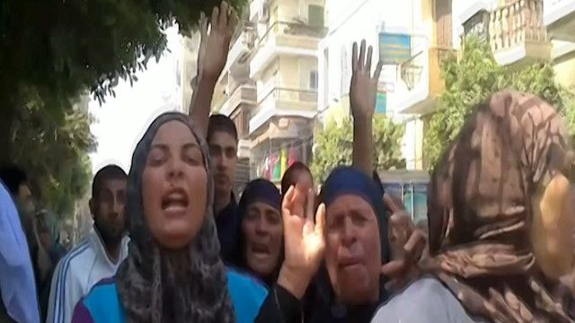 متظاهرون في مصر