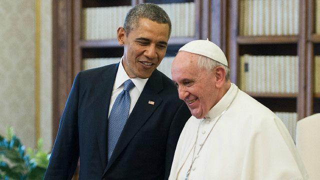 Pope, Obama
