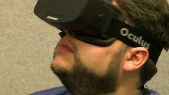O óculos de realidade virtual Oculus (BBC)