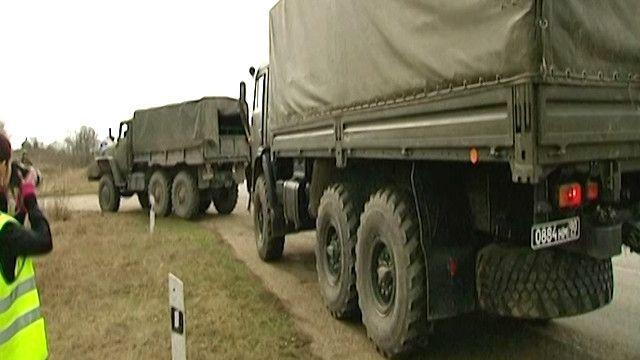 مركبات عسكرية روسية