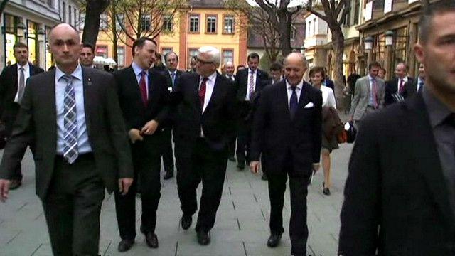 Встреча в Брюсселе