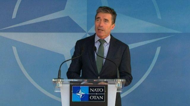 فوغ راسموسين الأمين العام لحلف الناتو