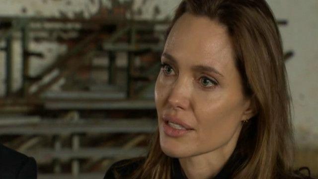 Angelina Jolie na Bósnia (BBC)