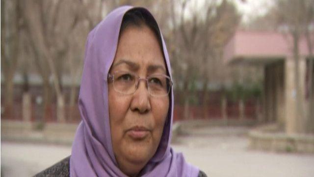 حبيبة سرابي مرشحة أفغانية للانتخابات