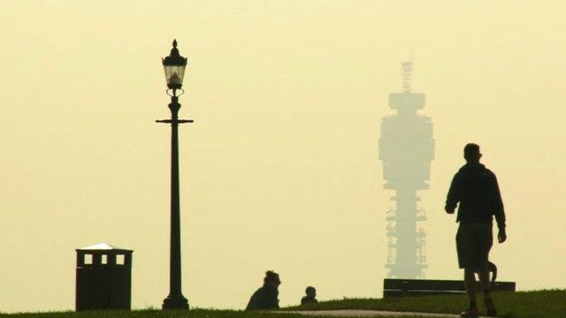 Poluição em Londres (BBC)