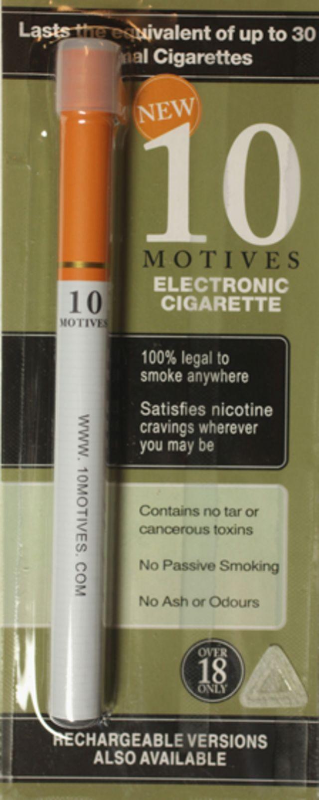 ¿Cuán seguros son los cigarrillos electrónicos?