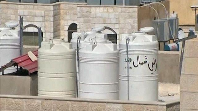 خزانات مياه في الاردن