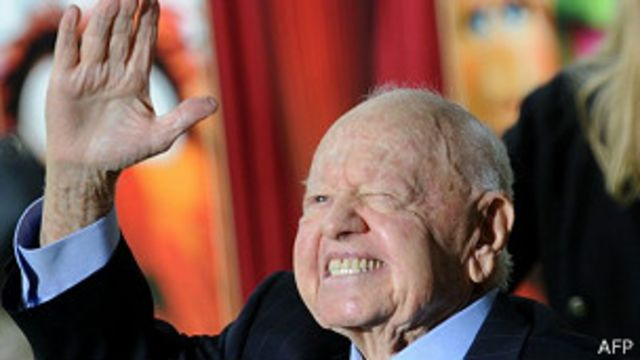 Muere el veterano actor Mickey Rooney