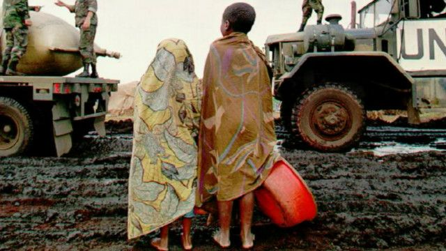 Abana muri Zaire bahunze genoside yo mu Rwanda mu 1994