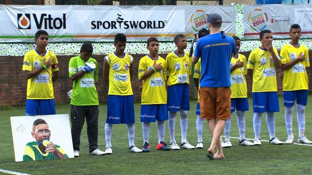 Copa do Mundo das Crianças de Rua. BBC