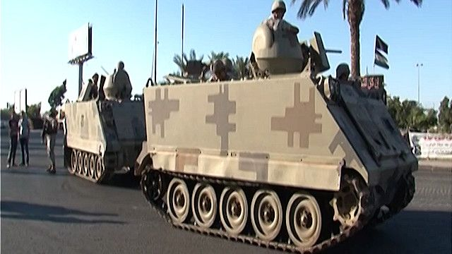مدرعة للجيش اللبناني