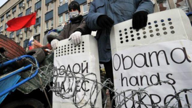Украина: новые нападения на отделения милиции