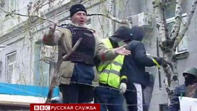 Митинг в Славянске