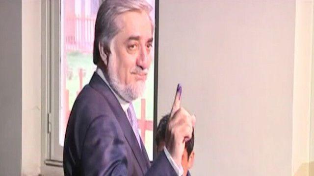 عبد الله عبد الله مرشح الرئاسة الأفغانية
