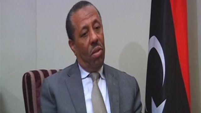 عبد الله الثني رئيس الوزراء المستقيل