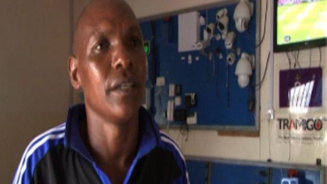 عامل أجنبي في الصومال
